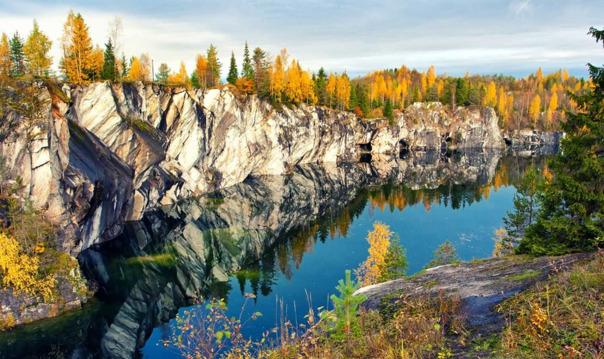 Дивная Карелия и горный парк «Рускеала»