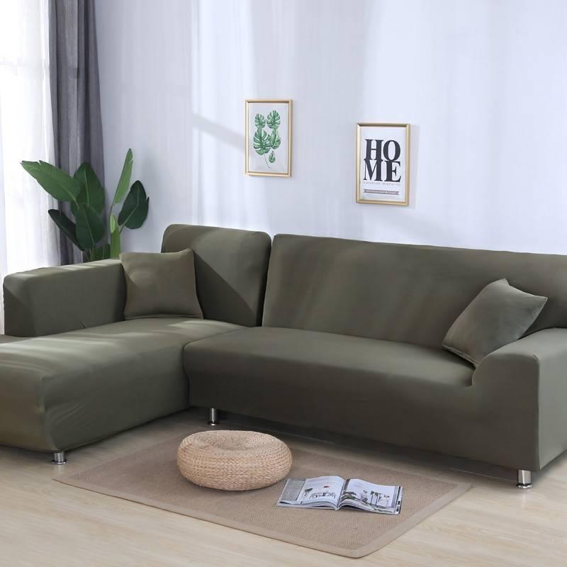 Solid Sofa Cover Pre Homebarn