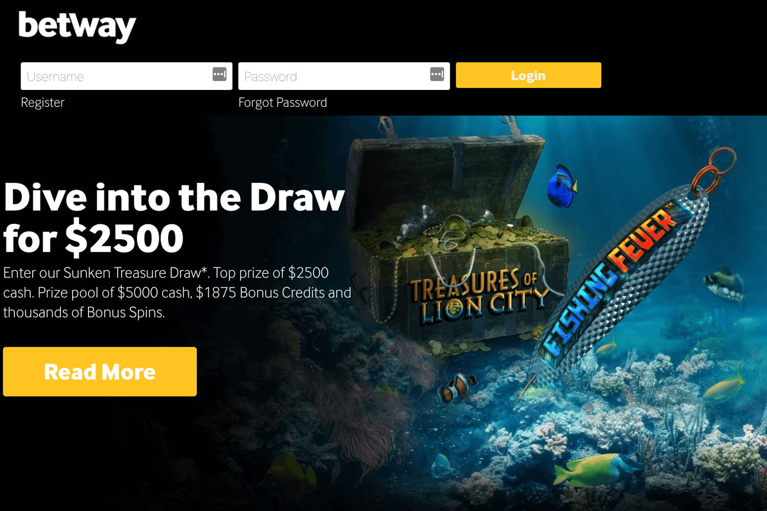 Best casino offers at Betway