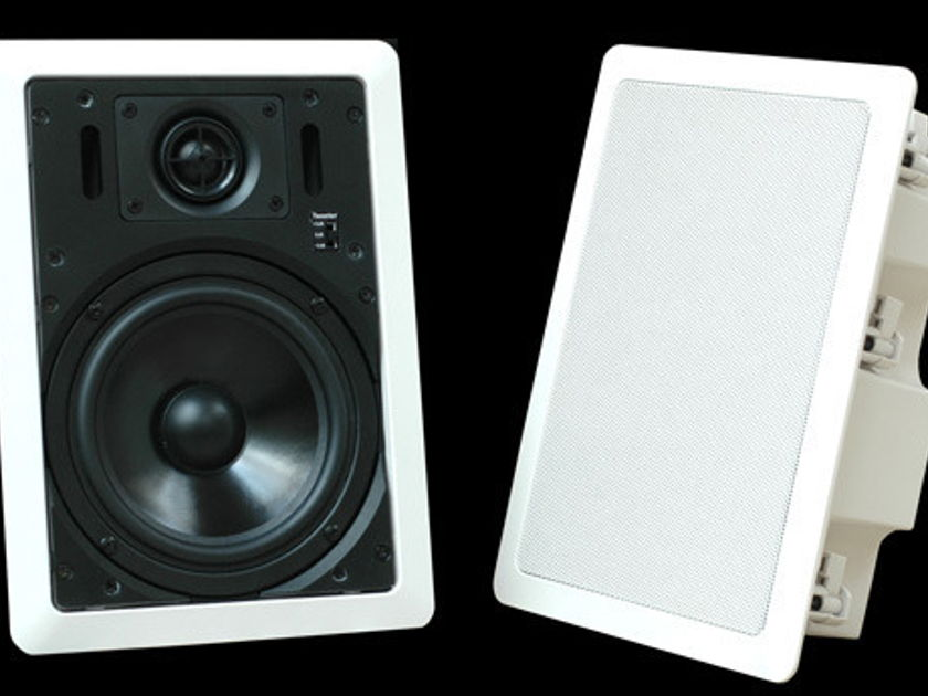 LSA In-Wall speakers New speakers with backboxes-LSA drivers Save 60%