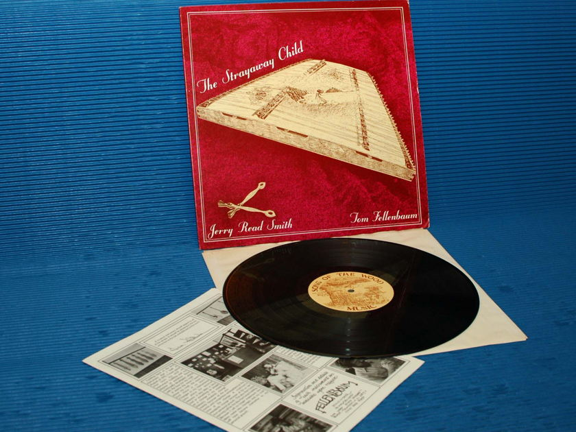 "JERRY REED SMITH -  - ""The Strayaway Child"" -  SOTW 1981 1st pressing Signed TAS List"