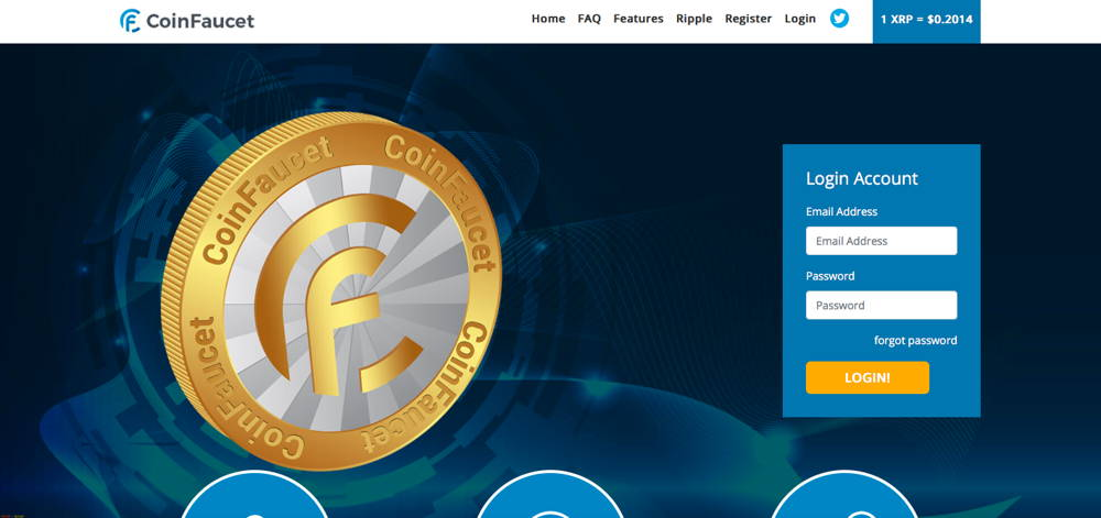 coin faucet cryptocurrency faucet