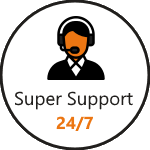 super customer support 24/7