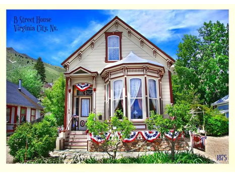 2-night stay at The B Street House, Virginia City.