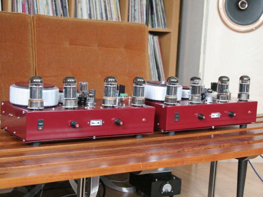 OTL monoblocks 1212 designs 6AS7 (6080)