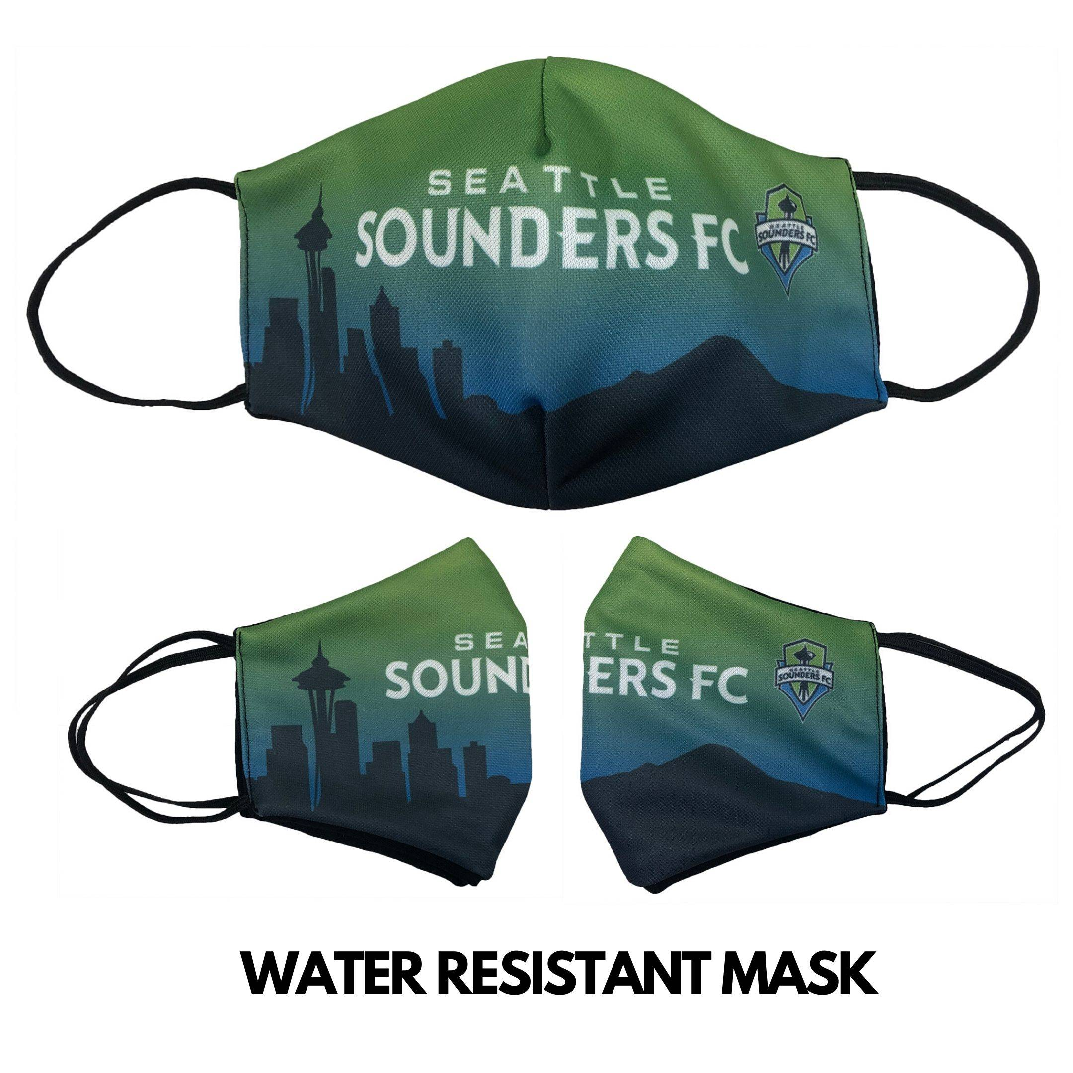 water resistant mask