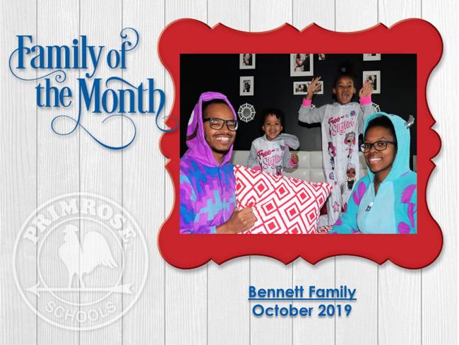 Bennett Family Picture