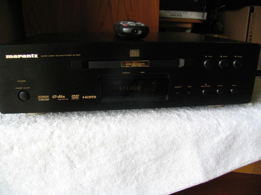 MARANTZ DV 7001 CD/DVD/SACD PLAYER MARANTZ'S BEST BUY UNIT