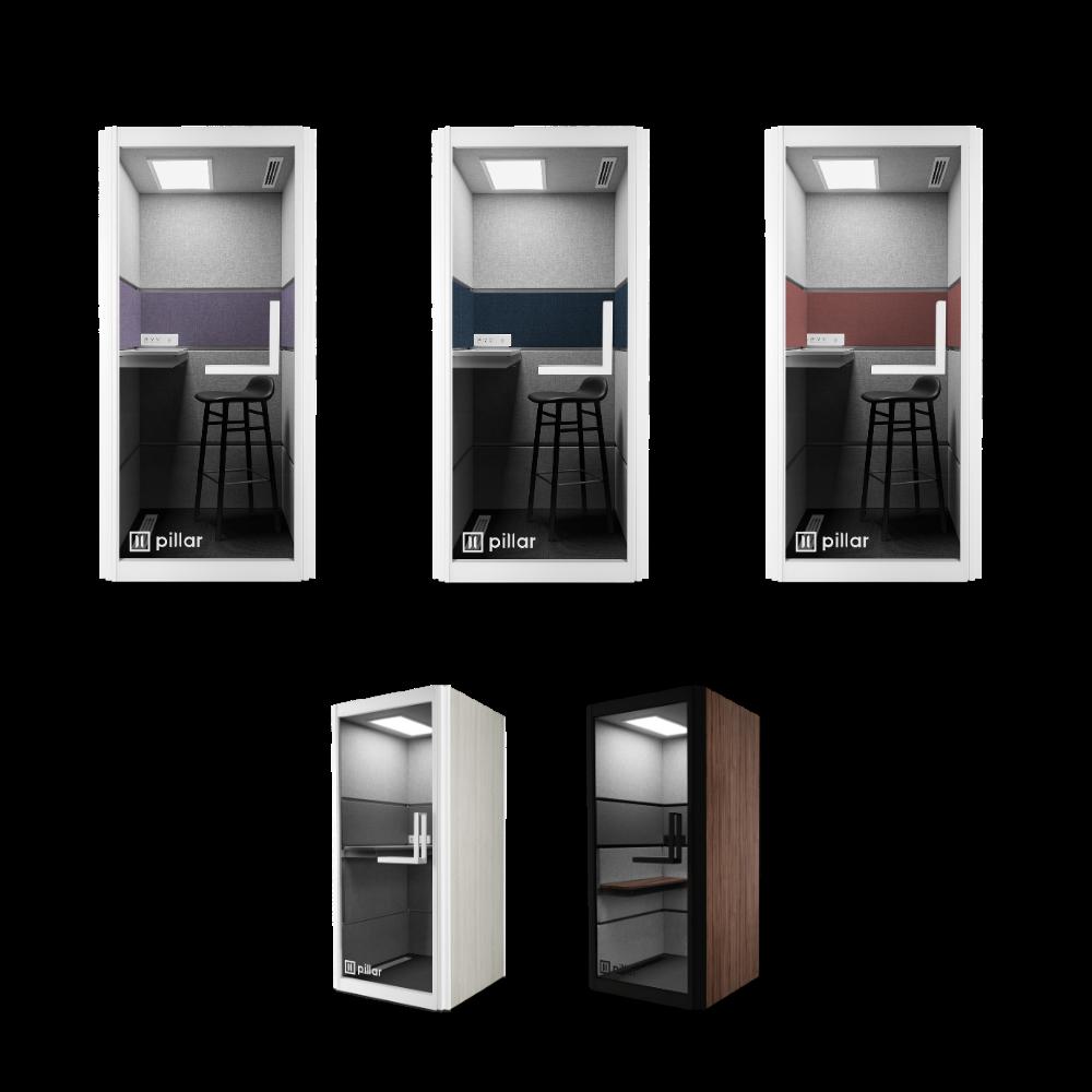 pillar booth customization options