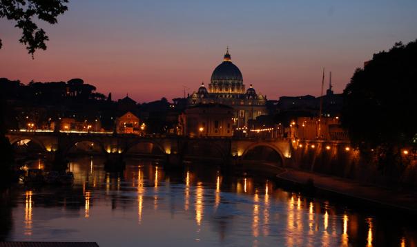 Обзорная экскурсия по ночному Риму