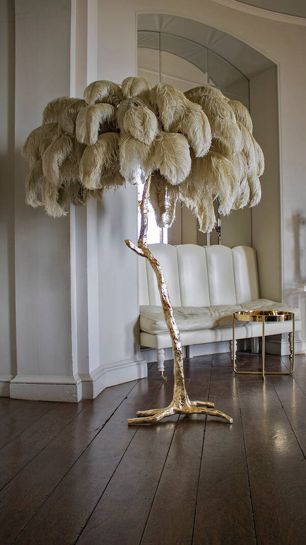 The Feather Lamp By A Modern Grand Tour