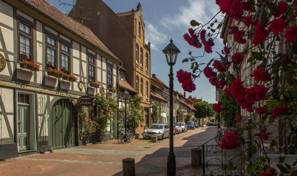 Город роз — средневековый Хильдесхайм