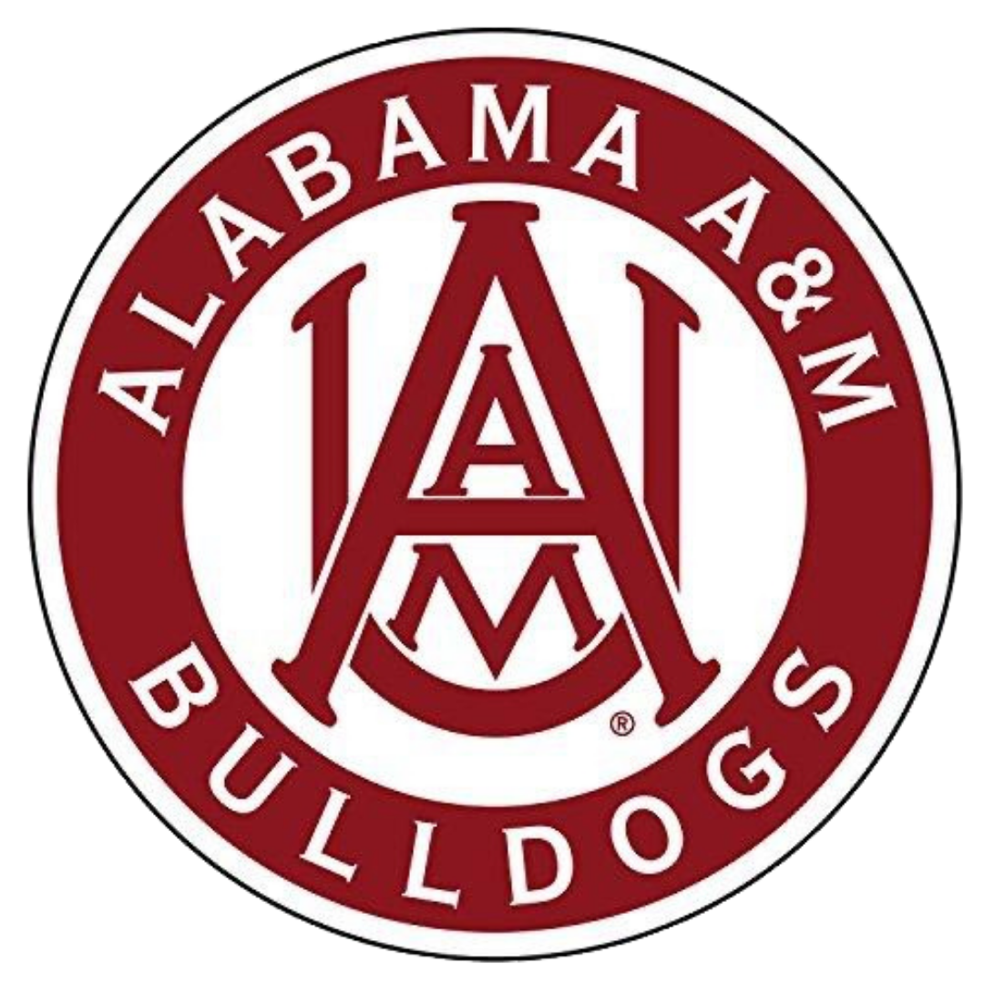 Alabama a m logo university