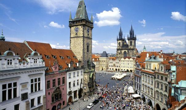 CITY TOUR по Праге с машиной