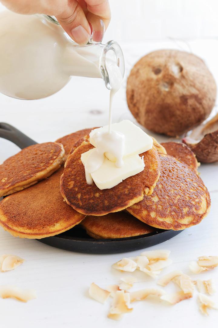 Coconut Pancake Syrup
