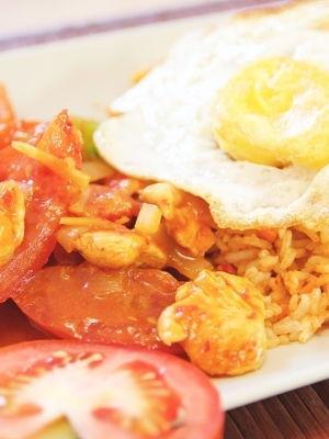 Malaysian Ketchup Fried Rice