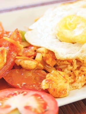 Malaysian Ketchup Fried Rice