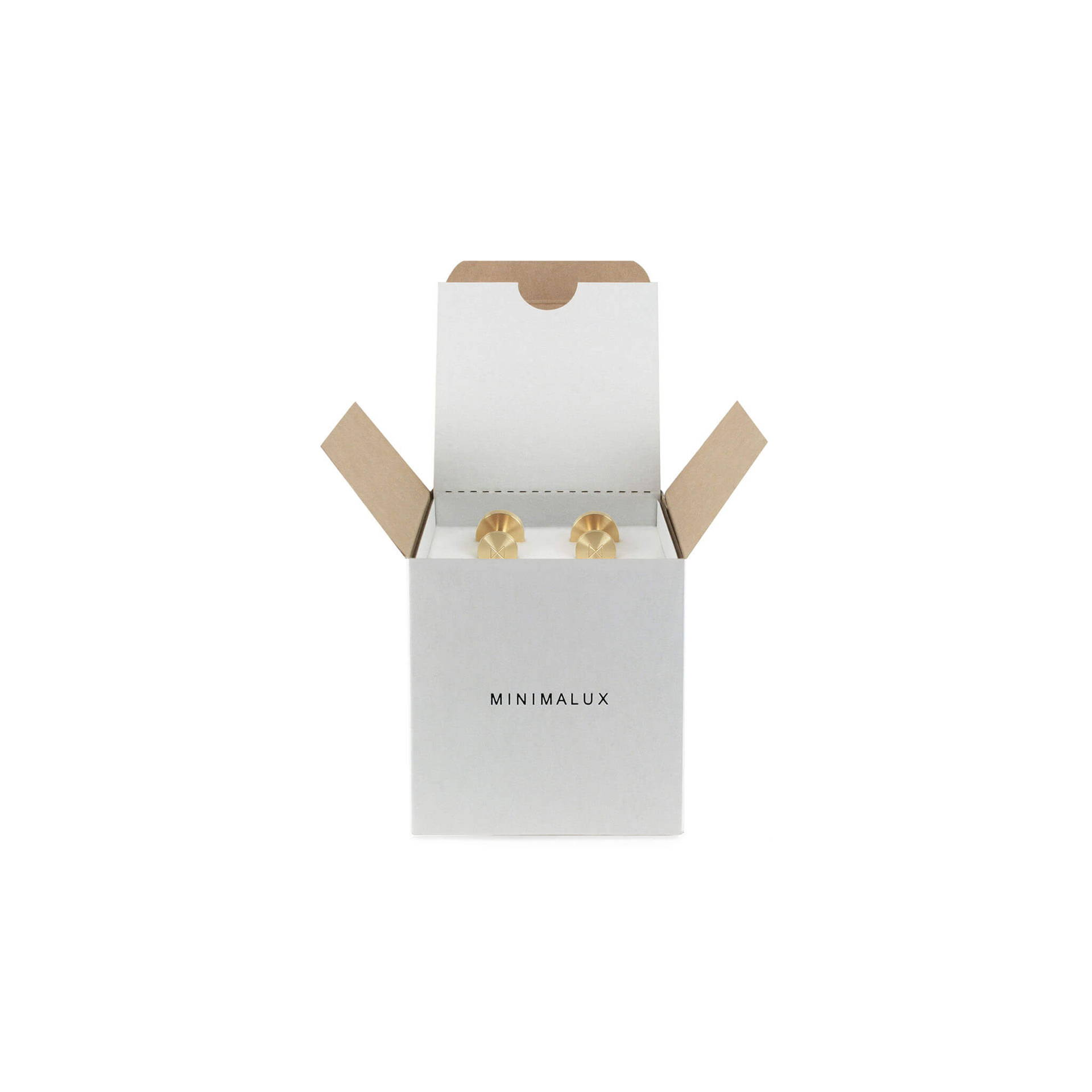 Brass Cufflink packaging