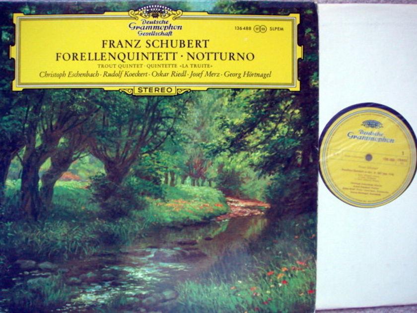 DGG / Schubert Trout Quintet, - ESCHENBACH/KOECKERT, MINT!