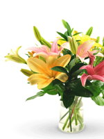 HF Mix lily Bouquet