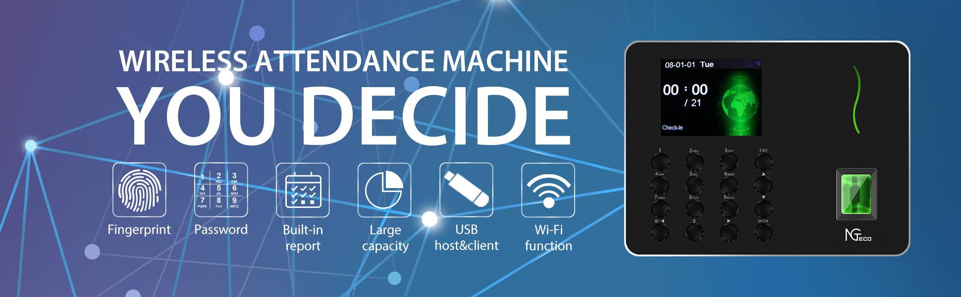 WL10 Biometric Time Attendance