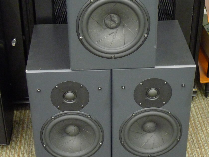 Triad Speakers Gold MiniMonitors (3) Theater  near San Francisco...................