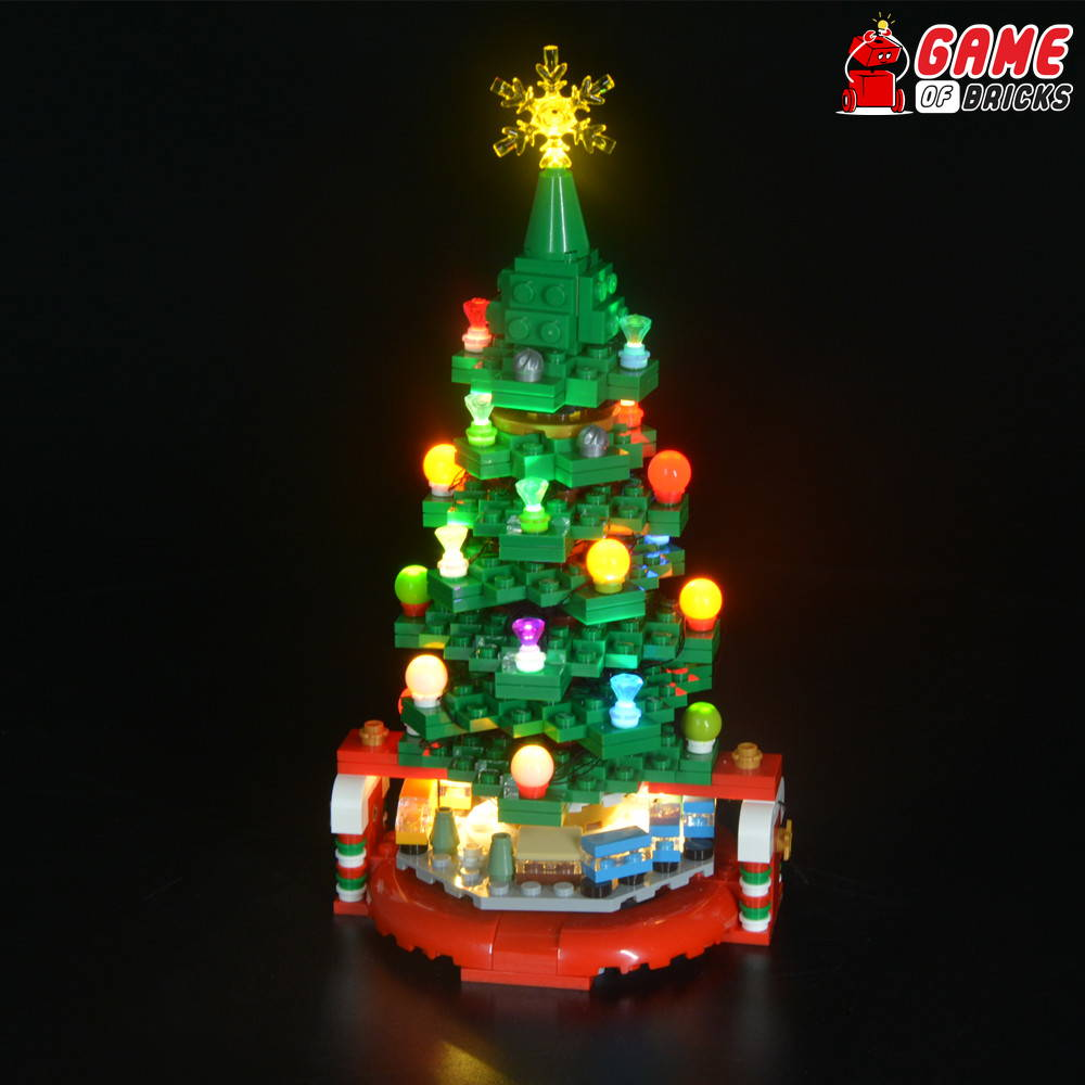 lego led light for christmas tree 40338
