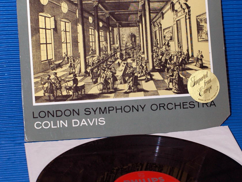 "MOZART / Davis  - ""Symphonies No.25, 29, 32"" -  Philips 197? import"