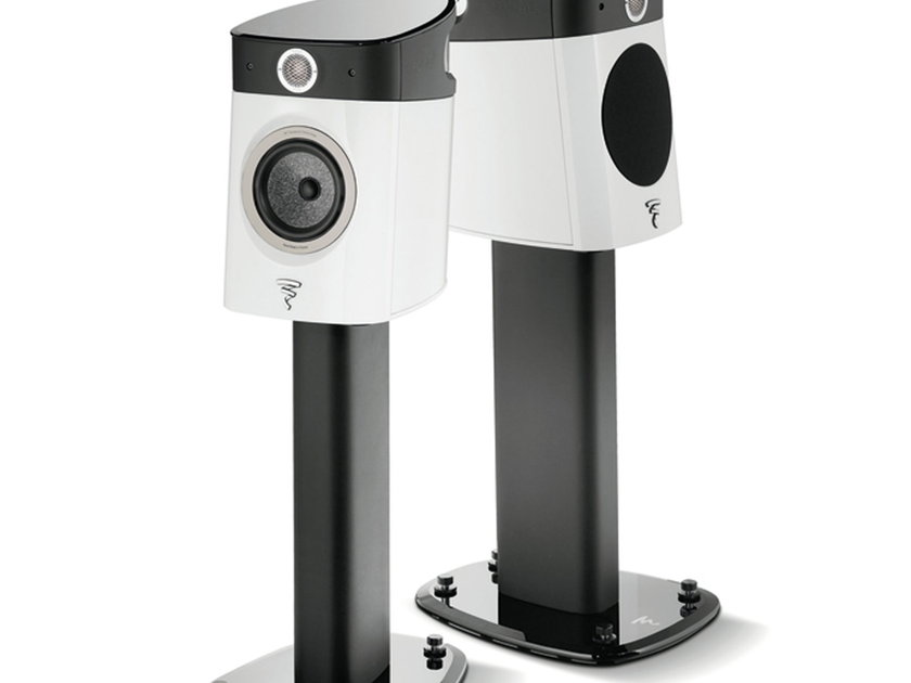 Focal Sopra No1 Compact Monitor Pair Black w/ Stands NEW IN BOX