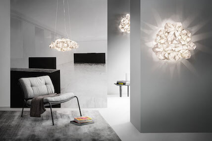 Slamp Clizia pendant and wall lights