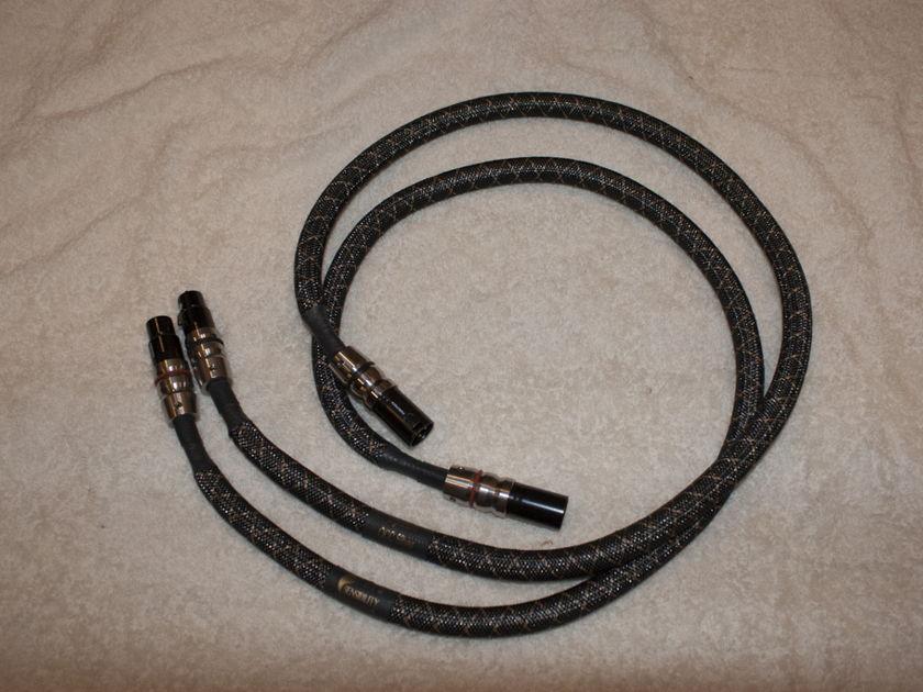 Audio Sensibility 1M Signature Silver XLR OCC Silver