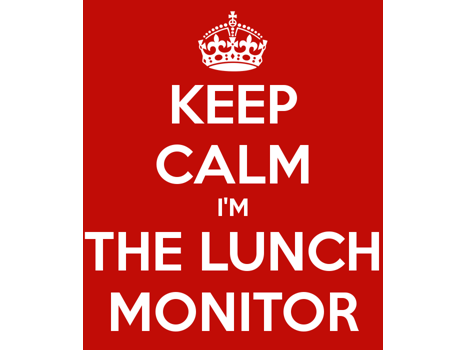 Lunch Monitor with Ms. Lynn
