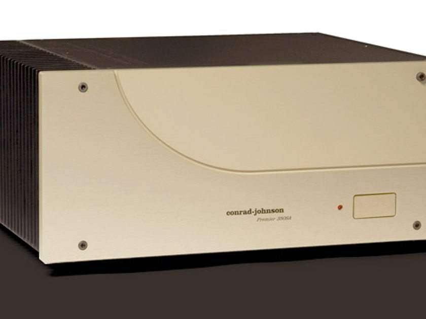 Conrad Johnson Premiere 350 Solid State 350 Wpc Power Amplifier NEW Finish: Standard Champagne