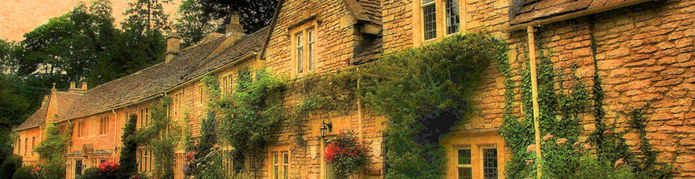 Сказки и обаяние английских деревень Castle Combe & Lacock.