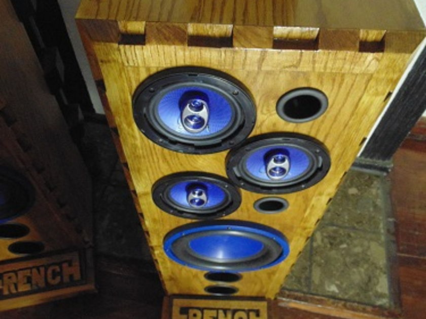 "FRENCH AUDIO THE REVELATOR (JOHN) FLOORSTANDING, STAGE, AUDITORIUM ,MONITOR SPEAKER 12"" SUB WOOFER"