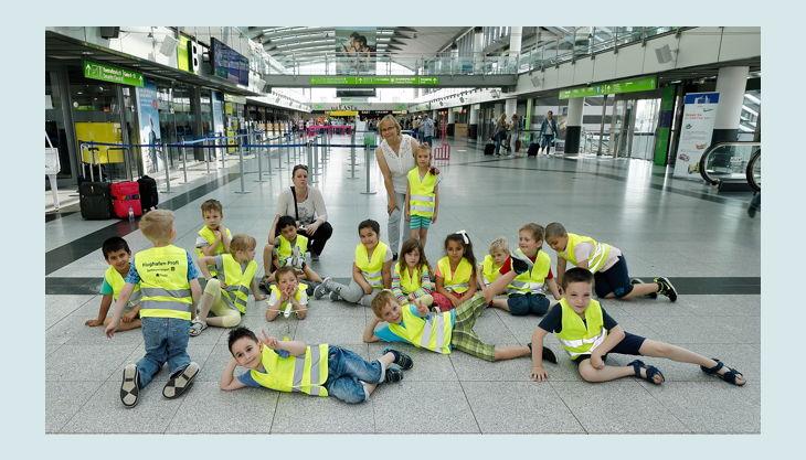 airport dortmund halle mit kinder