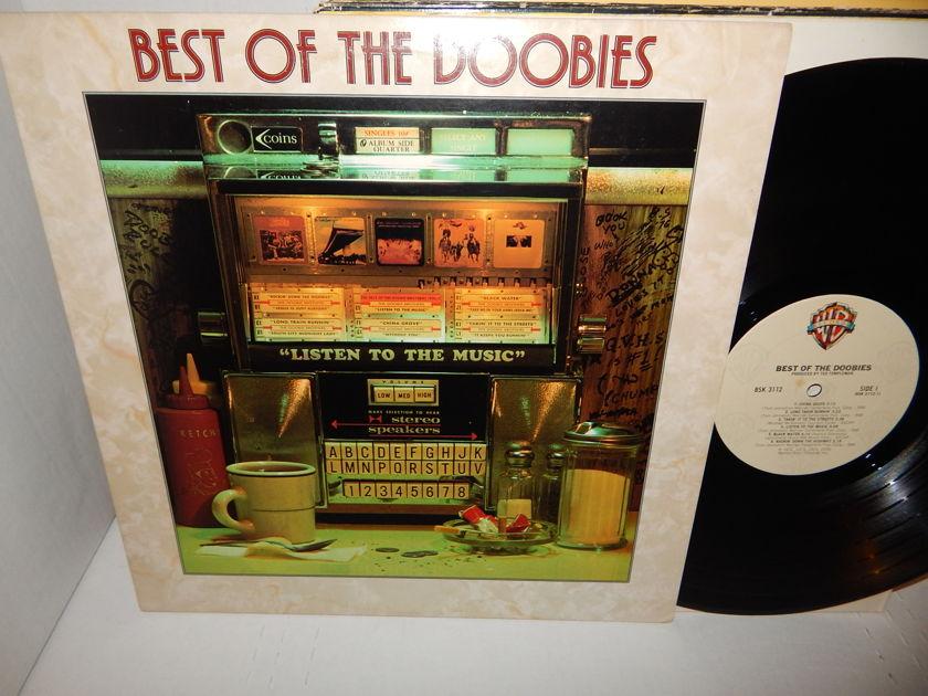 THE DOOBIE BROTHERS Best Of - The Doobies 1976 Warner cream label BSK 3112 Clean LP NM