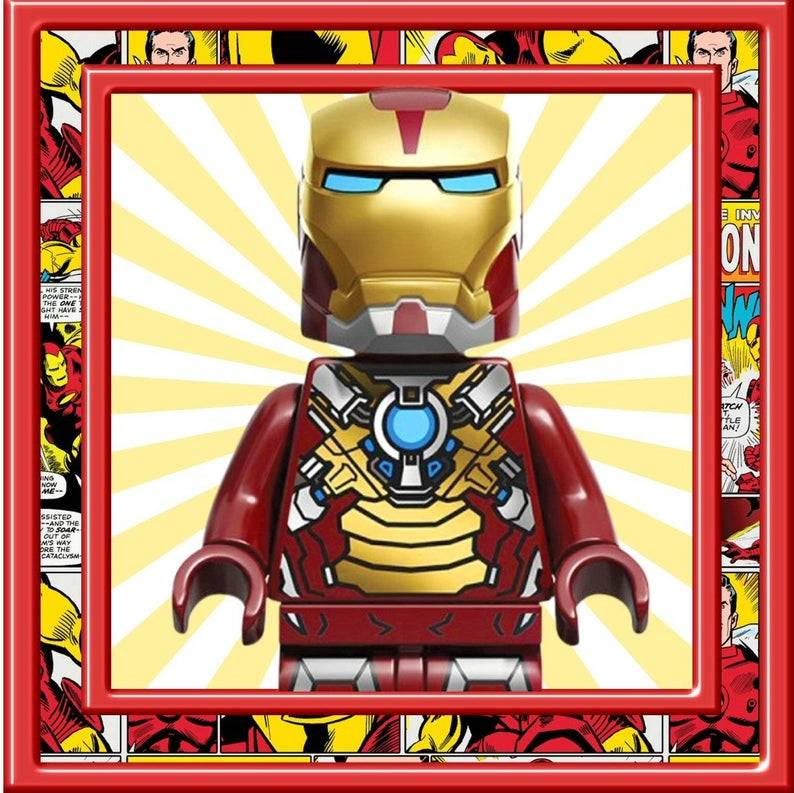 LEGO Superhero Card