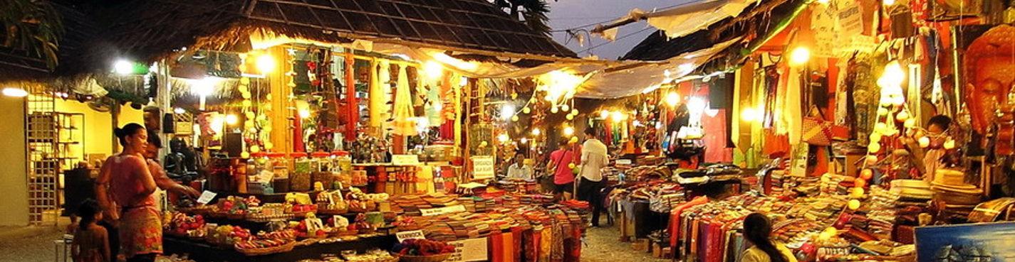 Экскурсия по рынкам Камбоджи