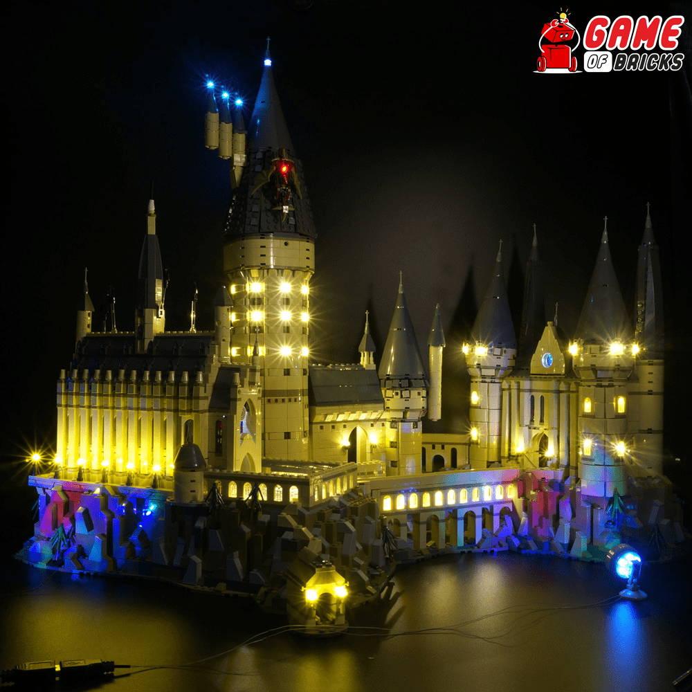 lego led lights for lego hogwarts castle