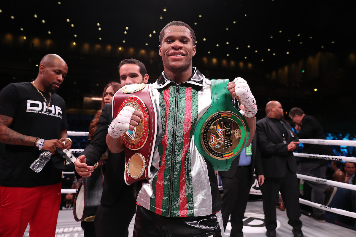 HANEY THRILLED TO BE FIGHTING FOR THE WBC INTERIM STRAP