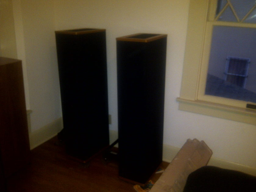 Vandersteen 3A  Vandersteen 3A with Sound Anchors