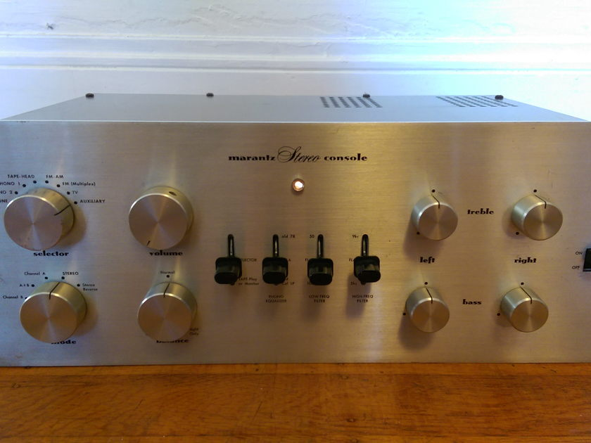 Marantz 7 Tube Preamp - Works and Looks Great