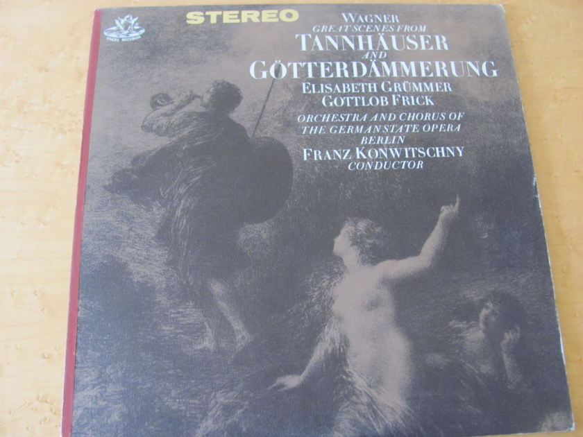 Wagner: Scenes from Tannhauser & Gotterdammerung,  - Angel Records, Franz Konwitschny,  Orchestra & Chorus of the German State Opera- Berlin, NM