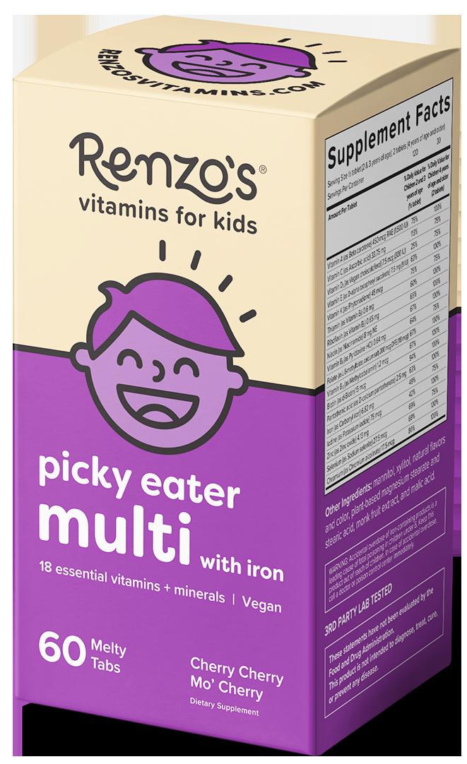 Renzos picky eater multi with iron box