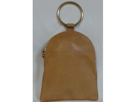 Large Brass Ring Pouch