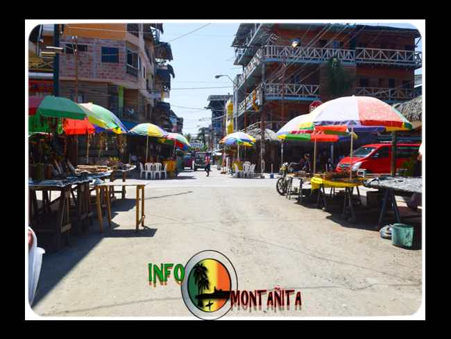 Come visit !! , The earthquake did not affect Montañita-Montañita
