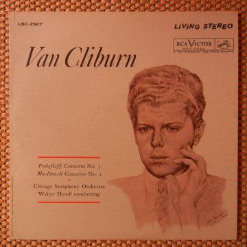 Van Cliburn-Concert No.3 & No. 2