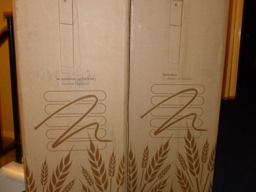 Martin Logan Motion 12 Floor Standing Speakers
