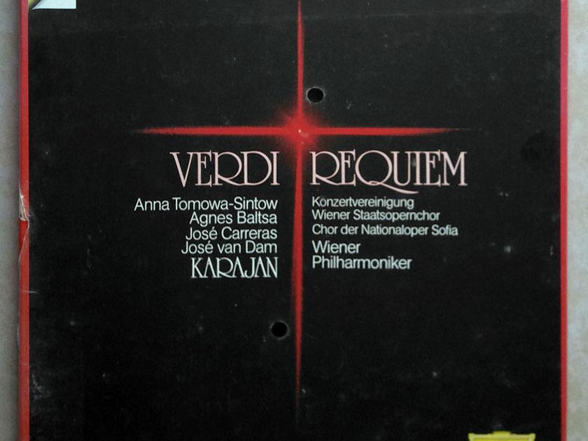 Sealed DG Digital   KARAJAN/VERDI - Requiem / 2-LP Box Set